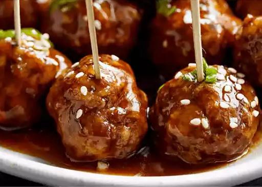 Recipe The Best Teriyaki Beef Meatballs
